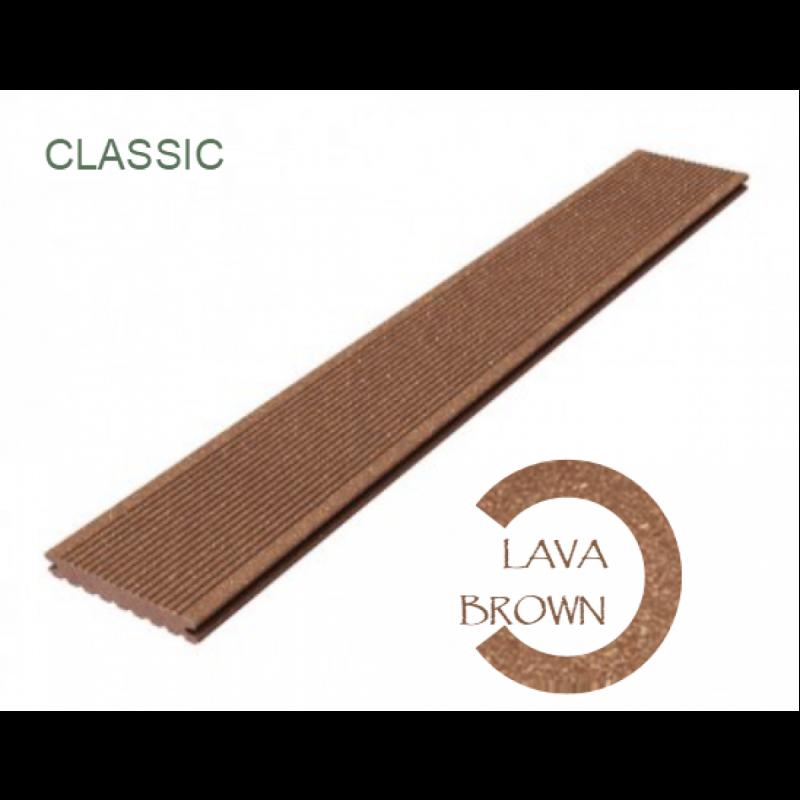 Террасная доска Megawood Classic полнотелая 21 x 145 х 3000