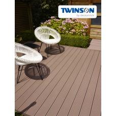 Террасная доска Twinson Terrace 180x20x4000/6000 мм