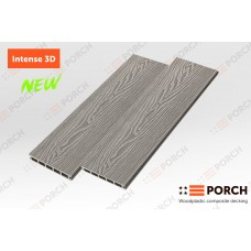 Террасная доска ДПК Porch Intense 3D , размер 150х24х3000 мм