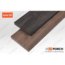 Террасная доска Porch Solid 3D 2200x140x18