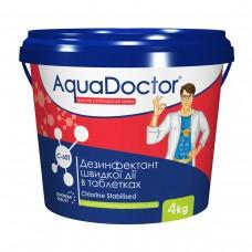 Дезинфектант на основе хлора быстрого действия AquaDoctor C-60T 4 кг