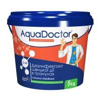 Дезинфектант на основе хлора быстрого действия AquaDoctor C-60 5 кг